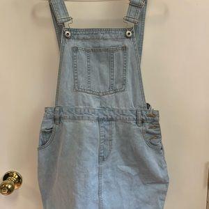 Jean skirt jumpsuit